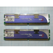 DIMM DDR2 8500 2048Mb Kingston (Kit of 2)