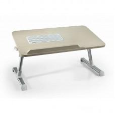 Охлаждающая подставка-эргономичный столик для ноутбука WOOD A8 fan usb