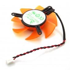 Вентилятор для видеокарты 39mm 2-pin GA51S2M-NNTB 12 V 0.15A 47 mm 39*39*39 mm для  ZOTAC N8600GT GT
