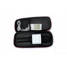 Караоке микрофон-колонка Q9 Bluetooth/USB/Line-In/Out (черный)