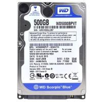 0500Gb БУ SATA WD WD5000LPCX 2.5 5400rpm 16Mb