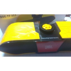 Колонка беспроводная Bluetooth J-TFX53 (Bluetooth, NFC, MP3, AUX, Mic)