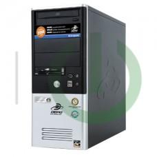 Системный блок Core 2 Duo E3200 2.4GHz/80Gb/Radeon 4350 512MB/2Gb-DDR2/DVD-RW/350W/Win 7