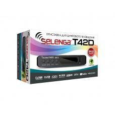 Приставка для цифрового телевиденья Selenga T42D 1080p@60 DVB-C,DVB-T2,DVB-T,HD/SD,MPEG2/MPEG4