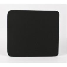 Коврик тканевый для мыши 18х22 см. (черный)