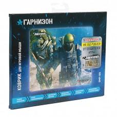 Коврик Гарнизон GMP-105, игровой, дизайн- игра Survarium, ткань/резина, размеры 200x250