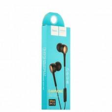 Гарнитура HOCO M19 Drumbeat Universal Earphone With Mic (черная)