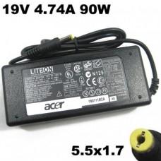 Блок питания для ноутбука Acer 19V-4.74A разъём 5.5*1.7 без кабеля питания