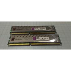 DDR3 4Gb Kingston Kingston HyperX Intel XMP CL9-9-9-27  2133MHz PC17000 (kit of 2)