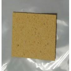 Губка для очистки жала паяльника 80x52x10