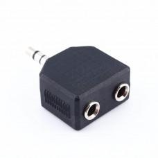 Разветвитель для 2 пар наушников  Audio jack 3 контакта