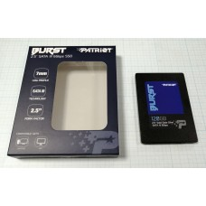 SSD Patriot Burst PBU120GS25SSDR 120Gb, SATA 6Gb/s, Read 560 MB/s, Write 540 MB/s, RT