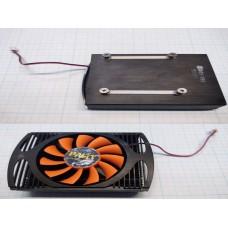 Система охлаждения видеокарты Palit 60mm между точками крепежа по диагонали  Fan pld06010s12l 2pin
