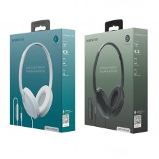 Гарнитура BOROFONE BO1 EnjoyBass In-line Control Wired Headphone (черная)