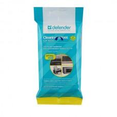 Салфетки чистящие влажные DEFENDER для пластиковых поверхностей (20 шт)