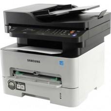 Samsung SL-M2870FD (A4, 28 стр/мин, 128Mb, лазерное МФУ, факс, 4800x600dpi,сетевой,USB2.0,ADF,двусто