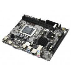 Azerty ZX-H81 LGA1150 H81 2-x DDR3 DIMM, 1066 - 1600 МГц  1xPCI-E x16, 1xPCI-E x1 FlexATX Intel Core
