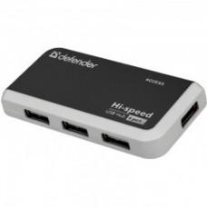 Хаб USB 2.0 Defender Quadro Infix, 4 порта