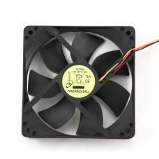 Вентилятор для корпуса 120x120x25  3pin + MOLEX подшипник БУ