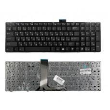 Клавиатура для ноутбука MSI MegaBook MSI GE70, GP60 черная с рамкой  V123322CK1, V123322IK1, V139922