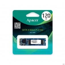 SSD M.2 120 GB Apacer AST280 Client SSD AP120GAST280-1 SATA 6Gb/s, 500/470, MTBF 2M, TL