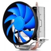 Кулер для процессора DeepCool GAMMAX 200T PWM 4пин, 100W, 26.1дБ, 900-1600 об, медь+алюминий