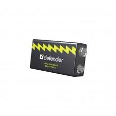 Батарея Крона Defender алкалиновая 6LR61-1B , в блистере 9 В