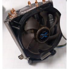 Кулер для процессора Zalman CNPS7X LED, 3 медных трубки 130 Вт, основание -  алюминиймедь, 1950 об