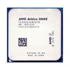 AMD Athlon 200GE 3.2 GHz/2core/1+4Mb/SVGA RADEON Vega 3/35W/Socket AM4